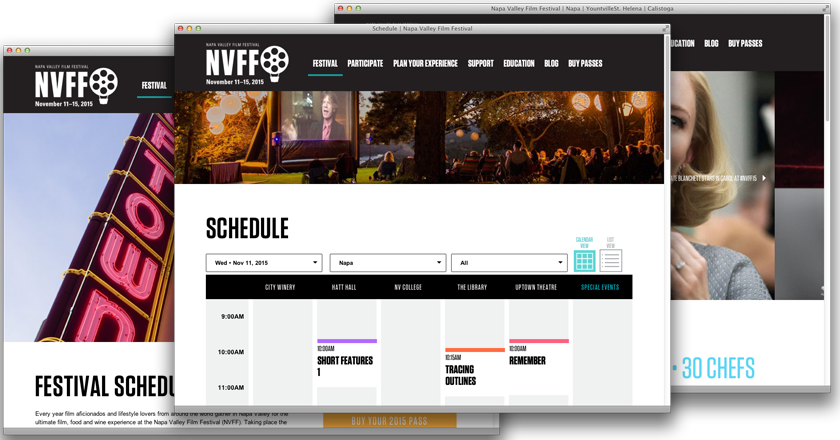 Napa Valley Film Festival Screenshots
